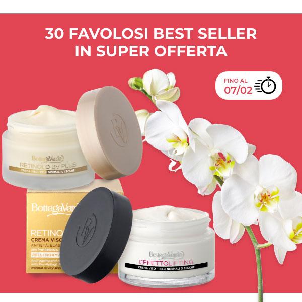 30 cosmetici best seller in super offerta