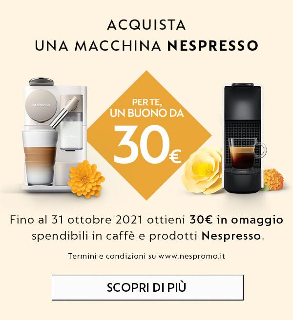 promo capsule omaggio nespresso