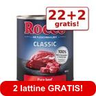 22 + 2 gratis! 24 x 800 g Rocco Classic