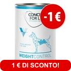 Prezzo prova! 6 x 400 g Concept for Life Veterinary Diet Umido Cane