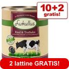 10 + 2 gratis! 12 x 800 g Lukullus