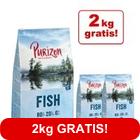 12 + 2 kg gratis! 14 kg Purizon 80:20:0