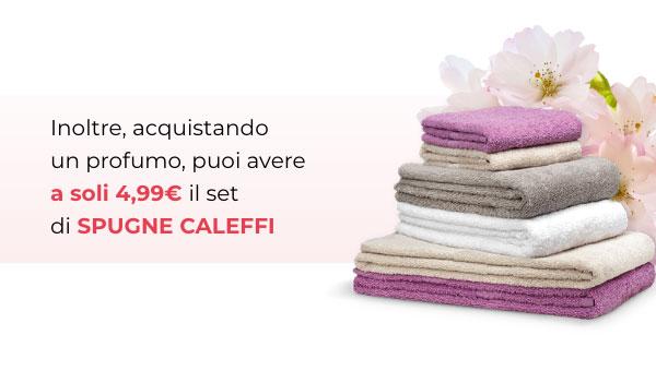 Set spugne Caleffi a soli 4,99€