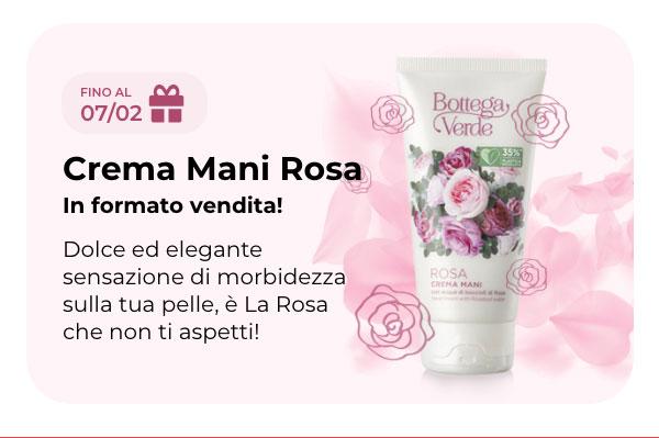 Crema mani alla rosa Gratis