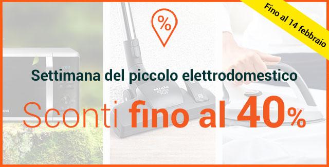 -50% sui piccoli elettrodomestici