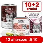 10 + 2 gratis! 12 x Wolf of Wilderness