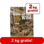 12,2 + 2 kg gratis! 14,2 kg Taste of the Wild Canine