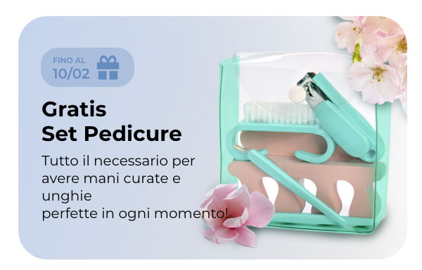 Gratis Kit pedicure