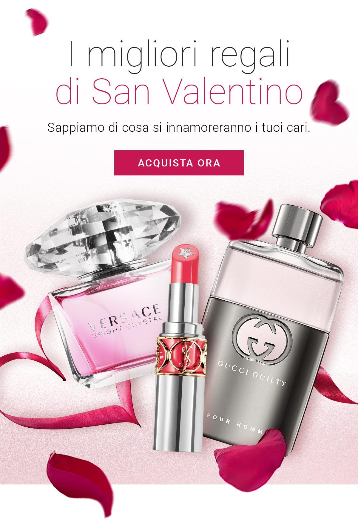I migliori regali di San Valentino