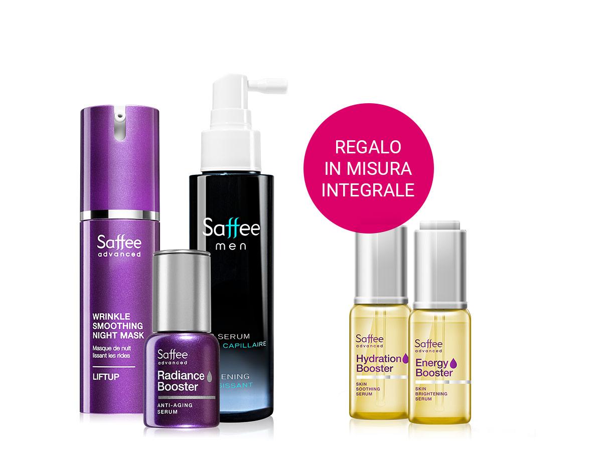 Saffee Advanced skin serum in omaggio con l'acquisto di questo cosmetico francese superiore a 25 €. Scegli tra due varianti nel carrello.
