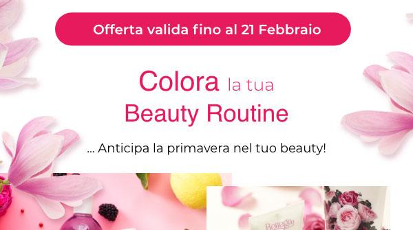 Colora la tua beauty Routine