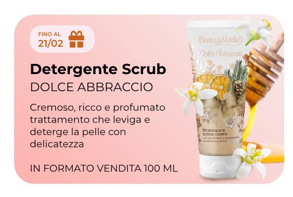 Detergente Scrub Dolce Abbraccio Gratis