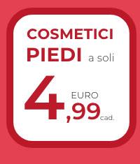Cosmetici piedi a soli 4,99€