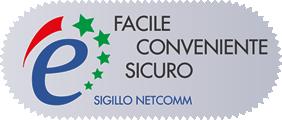 Facile, Conveniente, Sicuro: Sigillo Netcomm