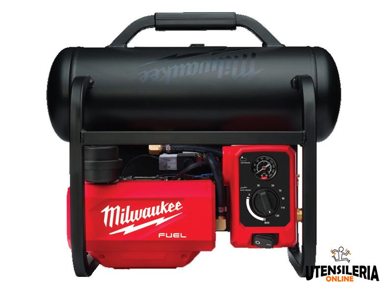 Compressore a batteria Milwaukee M18 Fuel FAC-0 da 7,6 litri