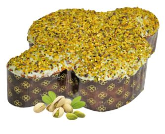 Colomba Pasquale Artigianale con farina di mais e pistacchio Di Iorio 1kg