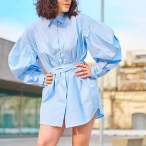 Camicia minidress