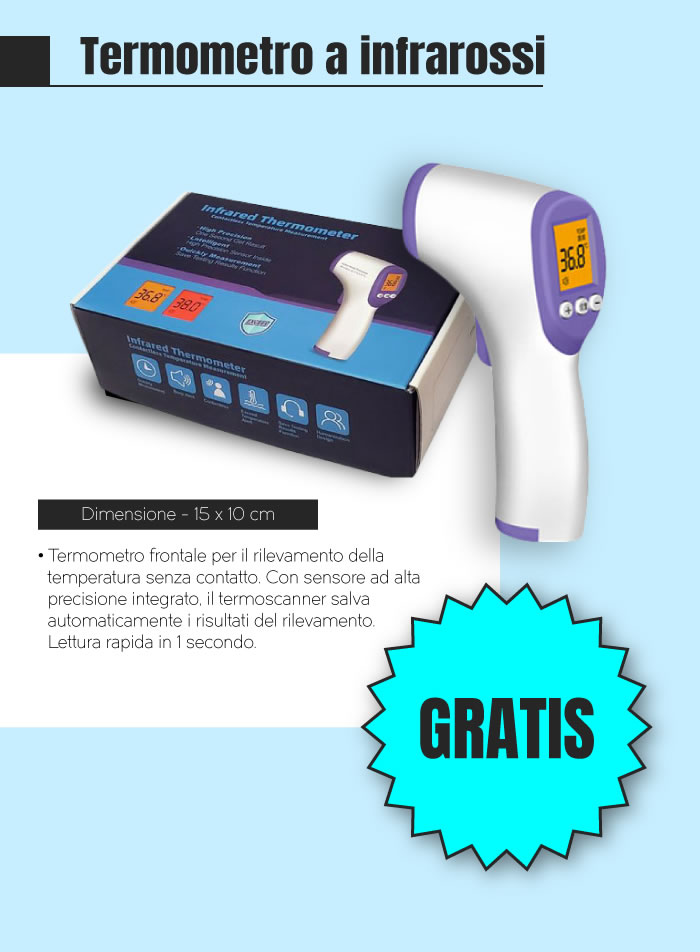 Offerta Termoscanner in regalo