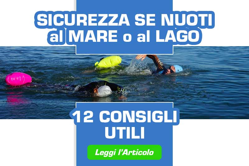 sicurezza in acque libere