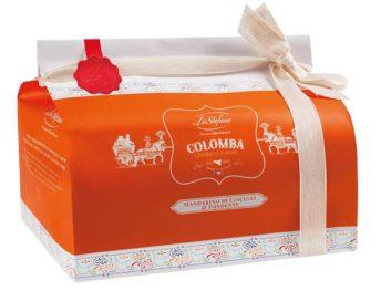 Colomba Pasquale Artigianale al mandarino di Ciaculli e cioccolato fondente 750gr
