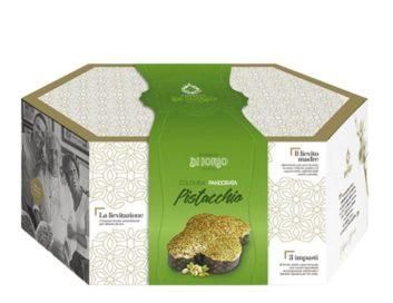 Colomba Pasquale Artigianale pandorata al pistacchio Di Iorio 1kg