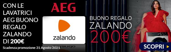 AEG buono sconto Zalando 200€