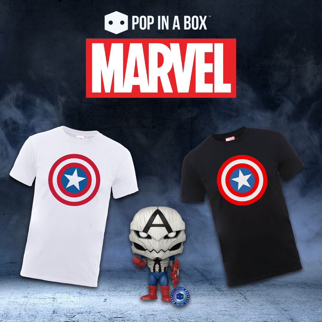 💣 Super Offerta T-shirt Marvel + Pop! 💣