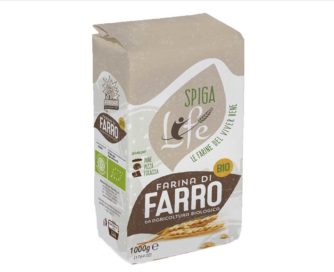 """Farina di farro spelta tipo """"0"""" bio Molino Ferrari 1kg"""
