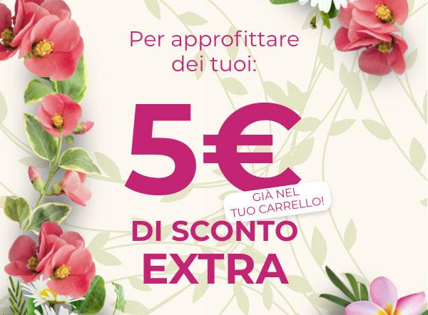 5€ di sconto extra