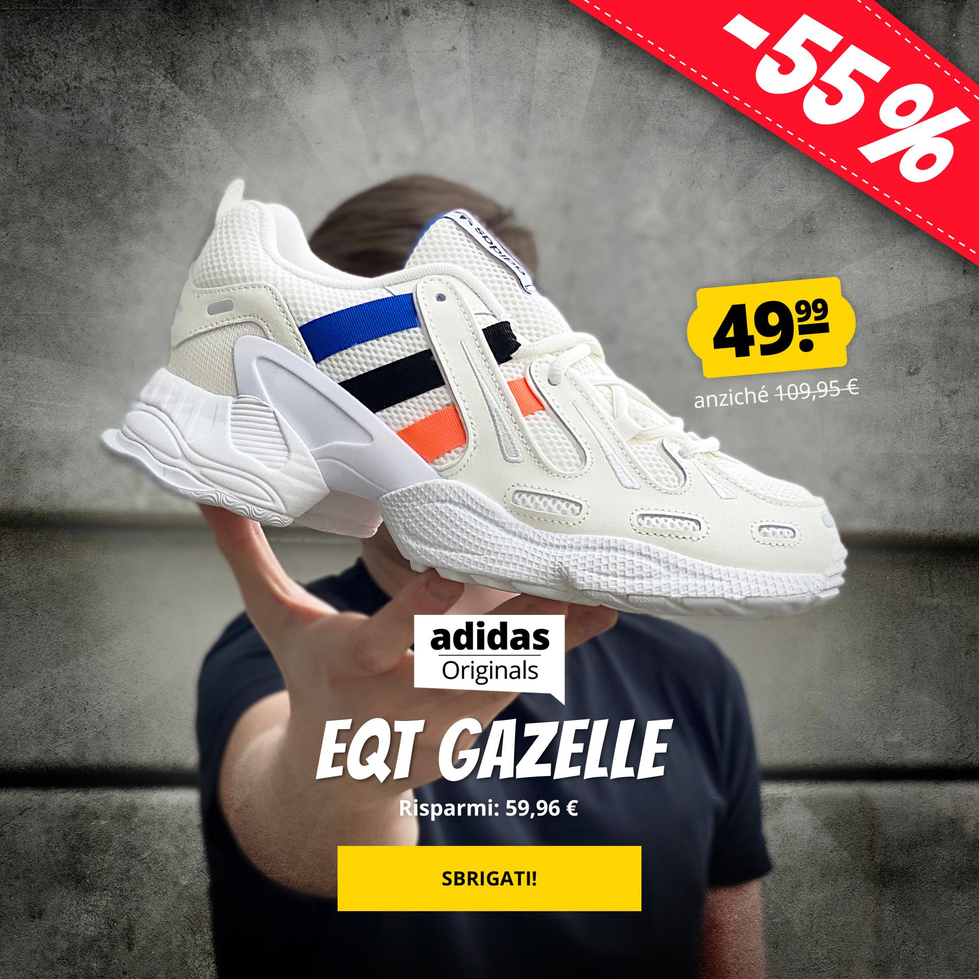 adidas Originals EQT Gazelle solo 49,99 €