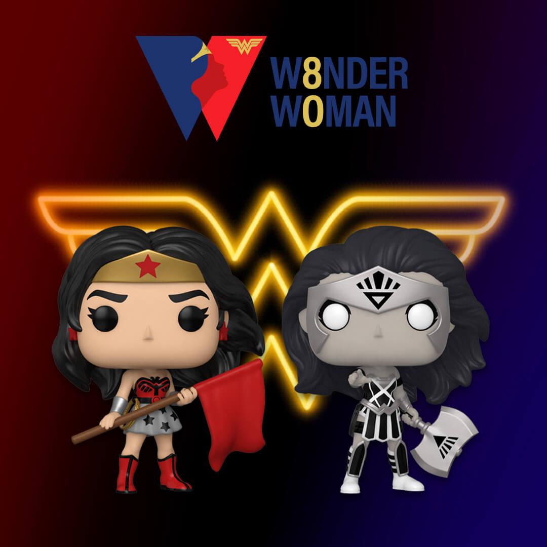 🦸♀️ Nuovissimi Pop! Wonder Woman 80° Anniversario🦸♀️