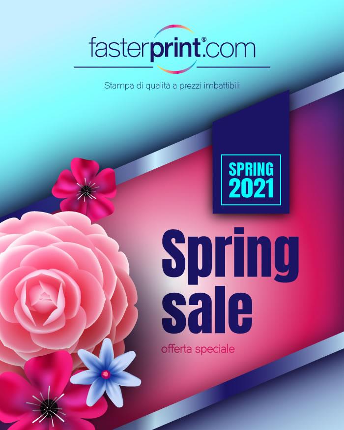 FasterPrint Offerte di Primavera