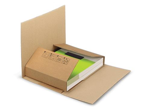 Scatole fustellate per libri Ecobook