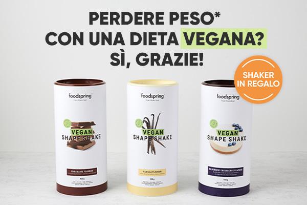 Perdere peso* con una dieta vegana? Sì, grazie!