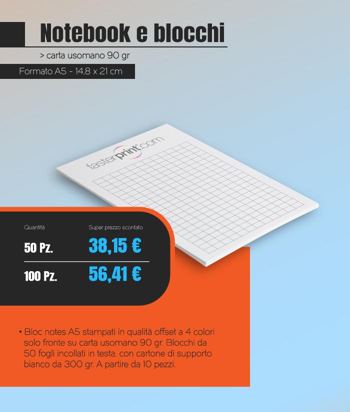 Offerta Blocchi A5