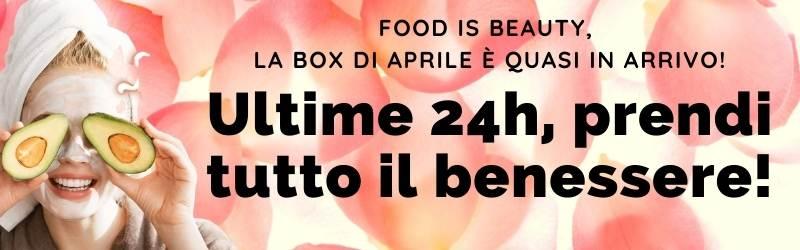 Ultime 24h per la box di aprile!