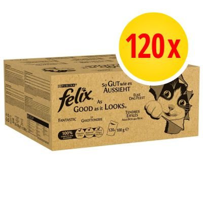 Fai scorta! Felix Le Ghiottonerie in gelatina 120 x 100 g