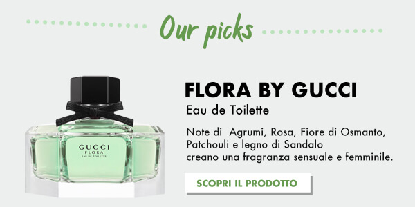 Gucci Flora da Profumerie Sabbioni