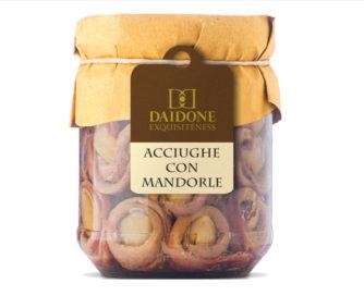 Acciughe con mandorle Daidone Equisiteness 200gr