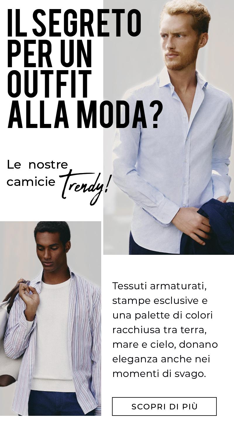 Il segreto per un outfit alla moda? Le nostre camicie Trendy