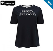 Freddy - T-SHIRT CON STAMPA METAL undefined