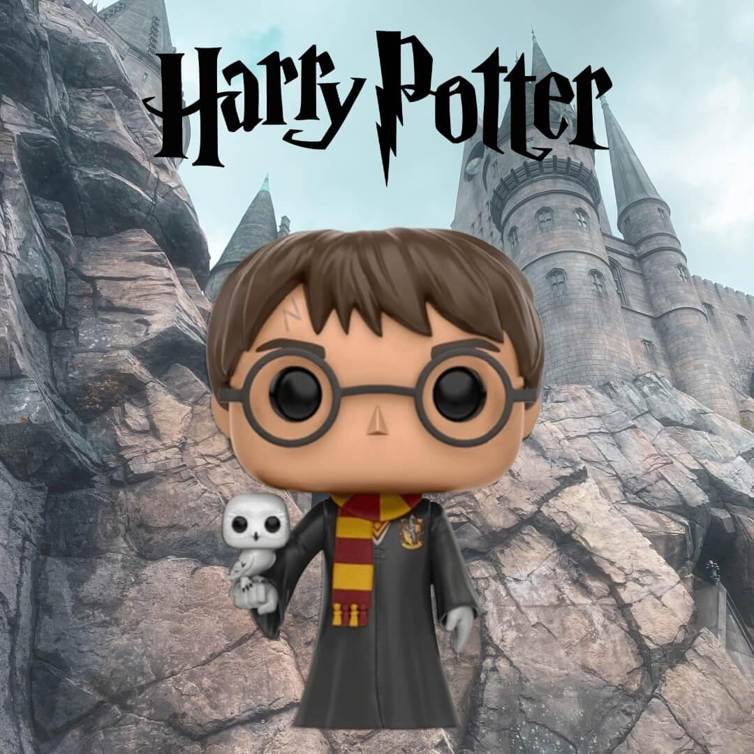 Harry Potter con Edvige EXC è ora in stock!