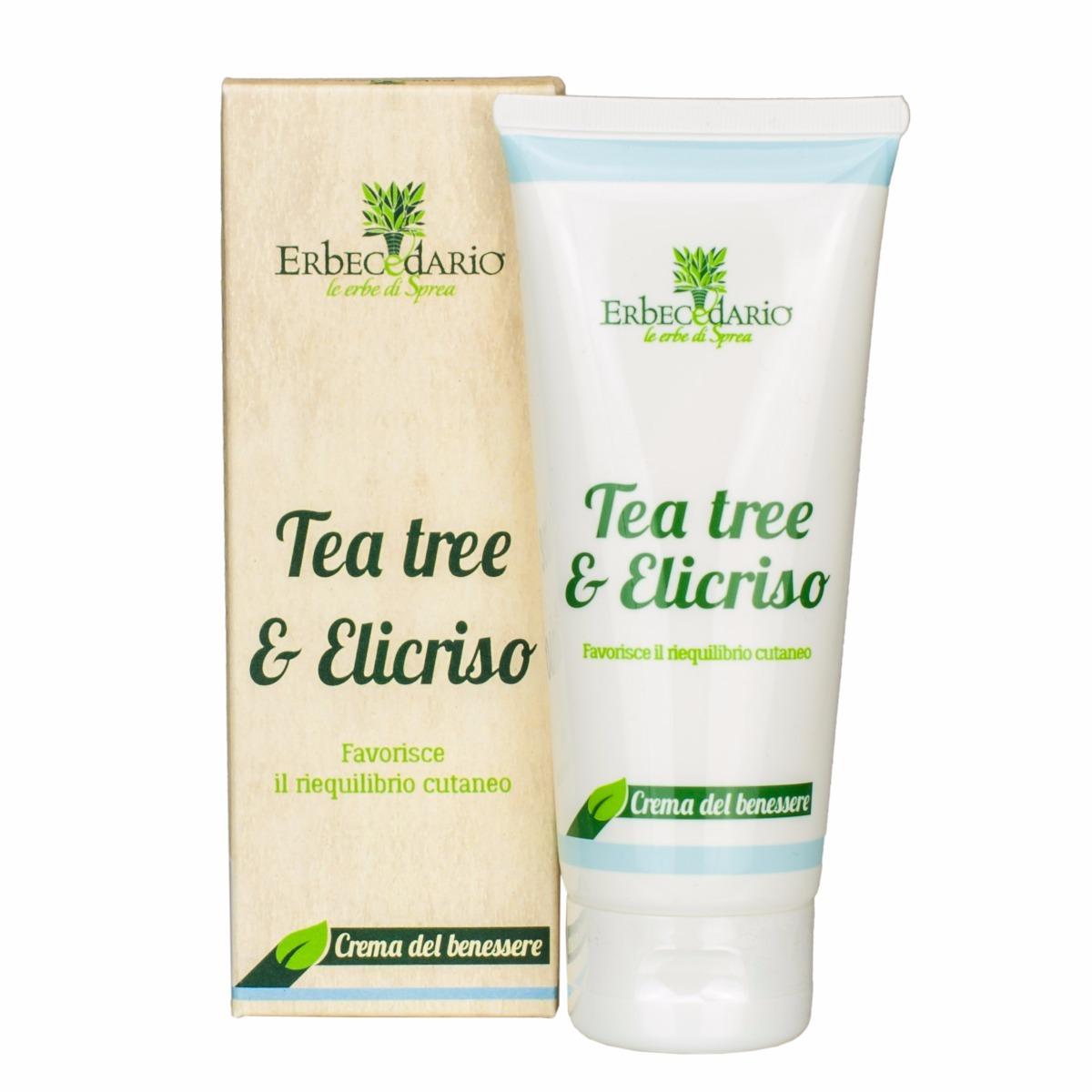 Crema Benessere Tea Tree & Elicriso