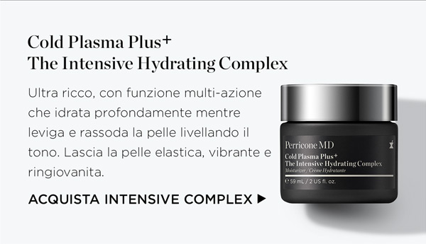 Cold Plasma Plus The Intensive Hydrating Complex