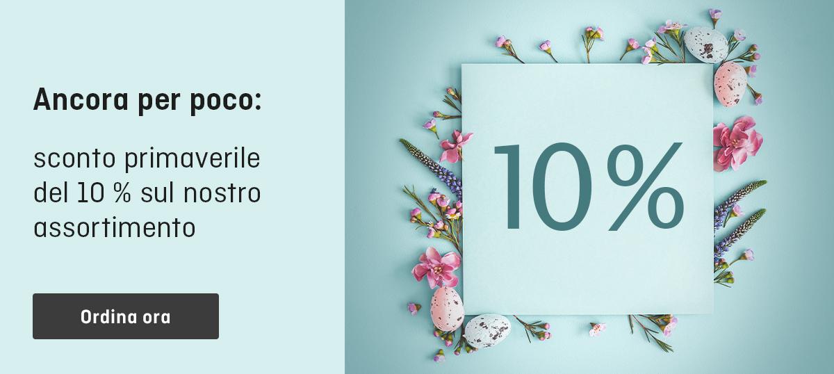 Benvenuta primavera su ONLINEPRINTERS: 10 % di sconto ad aprile