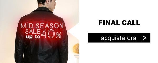 Mid Season sale fino al 40%
