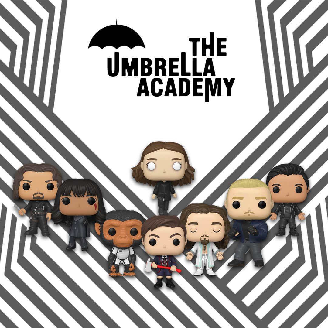 🥳🖤 Nuovi Pop! Umbrella Academy! 🖤🥳