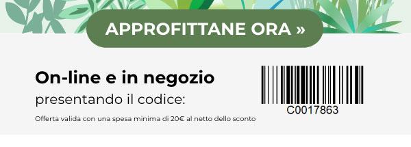 Offerta valida online e in negozio