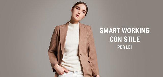 Smart working con stile per lei