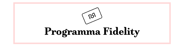 Programma Fidelity